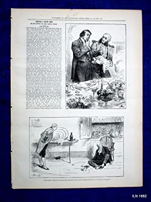 The Illustrated London News Supplement to 19 August 1882. The Royal Archaeological Institute Visit ...