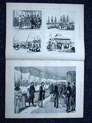 The Illustrated London News, 2 September 1882. War in Egypt, PRESTON (Lancashire),: The Illustrated...