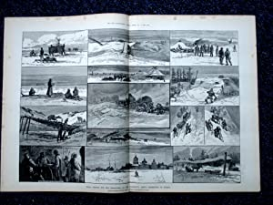 The Illustrated London News Supplement to 7 October 1882. Final Search for Jeannette Arctic ...