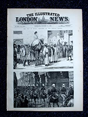 The Illustrated London News, 14 October 1882.: The Illustrated London