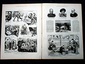 The Illustrated London News, 2 December 1882. The Queen Decorating Troops returned from Egypt ...