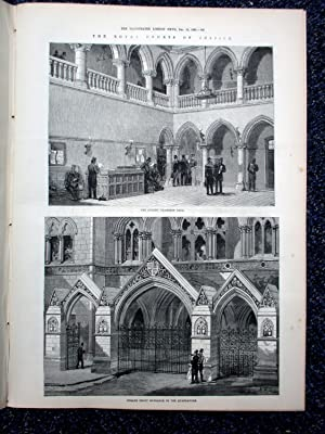 The Illustrated London News, 16 December 1882. Fire Destroys Alhambra Theatre, Funeral Archbishop ...