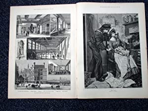 The Illustrated London News, 23 December 1882. City of London School, Fire at Hampton Court Palace,...