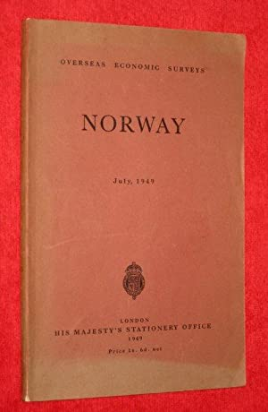 NORWAY, Economic and Commercial Conditions in Norway. Overseas Economic Survey.: Barber, L. C. S.