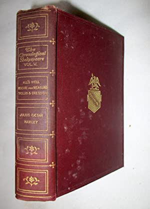 The Chronological Shakespeare Vol V. All's Well,: Shakespeare, William (