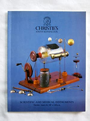 Scientific and Medical Instruments 20 August 1986, Christie's South Kensington Auction ...