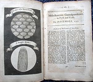 Miscellaneous Correspondence in Prose and Verse. December 1757.: Benjamin Martin.