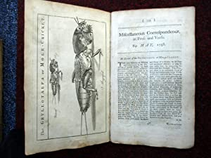 Miscellaneous Correspondence in Prose and Verse. May 1758. Inc Fielding & Dingley's Plans ...