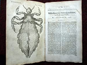 Miscellaneous Correspondence in Prose and Verse. October 1758. The Louse, Pediculus: Benjamin ...