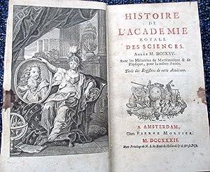 Histoire de l'Académie Royale Des Sciences. Année 1725. MDCCXXV. Avec les ...
