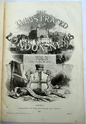 The ILLUSTRATED LONDON NEWS. Volume 3. 1st July to 30th December 1843. + Census of England and ...