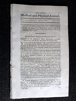 The London Medical and Physical Journal, 1817,: Various Inc Baron
