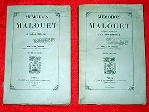 Memoires de Malouet, Publies par son Petit-fils Le Baron Malouet, Deuxieme Edition, Augmentee de ...