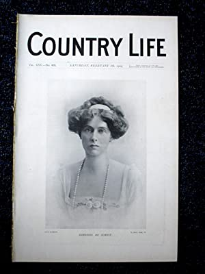 Country Life. No. 631, 6th February 1909.: Country Life
