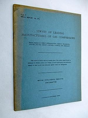 FIAT Final Report No. 396. SURVEY OF: Field Information Agency;