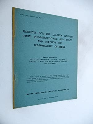 FIAT Final Report No. 846. PRODUCTS FOR: Field Information Agency;