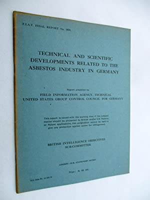 FIAT Final Report No. 1070. TECHNICAL AND: Field Information Agency;
