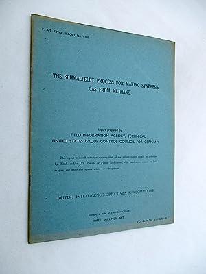 FIAT Final Report No. 1305. THE SCHMALFELDT: Field Information Agency;