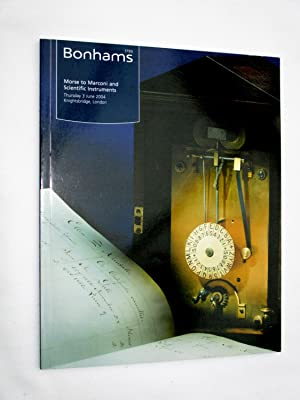 Morse to Marconi and Scientific Instruments. Thursday: Bonhams