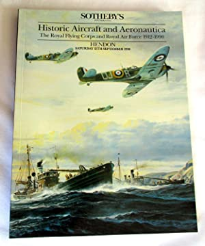 Historic Aircraft and Aeronautica. The Royal Flying: Sotheby. Sotheby's
