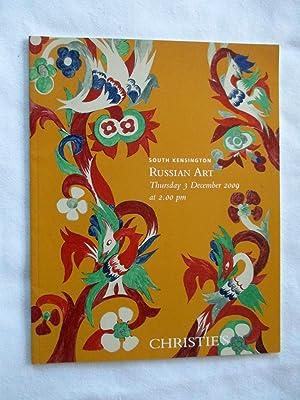 Russian Art, 3 December 2009, Christie's Auction: Christie's, Christies