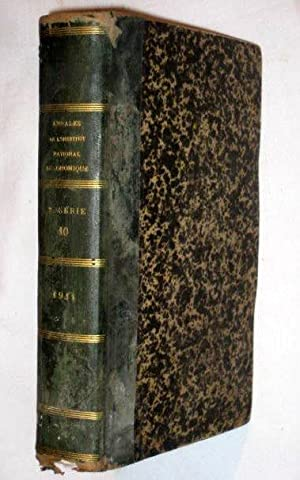 Annales de l'Institut National Agronomique, 2e série, tome X: Ministère de ...