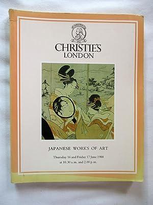 Japanese Works of Art. Japanese Ceramics, Bronzes,: Christie's. Christie Manson