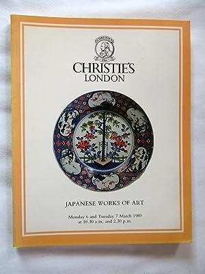 Japanese Works of Art. Japanese Prints, Illustrated: Christie's. Christie Manson