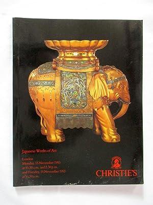 Japanese Works of Art. 18 March 1992,: Christie's, Christie, Manson