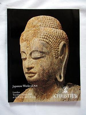 Japanese Works of Art. 16 June 1992,: Christie's, Christie, Manson