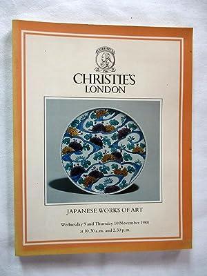 Japanese Works of Art. 9 & 10: Christie's.