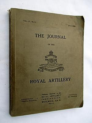 The Journal of the Royal Artillery, Vol: Royal Artillery,