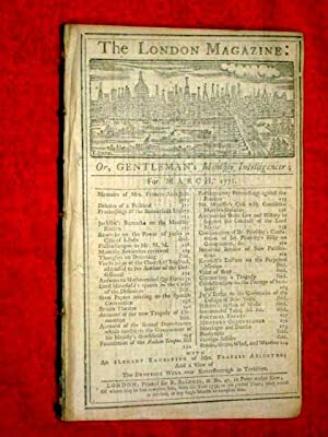 The London Magazine or Gentleman's Monthly Intelligence, March 1771, inc Engravings of Mrs ...