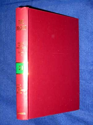 The Digest Annotated British, Commonwealth and European Cases, Volume 21, 1981 Green-Band Reissue. ...