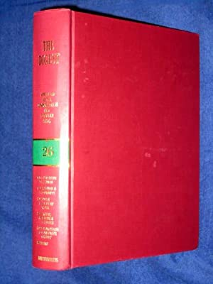 The Digest Annotated British, Commonwealth and European Cases Volume 26, 1981 Green-Band Reissue. ...