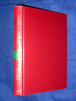 The Digest Annotated British, Commonwealth and European Cases, Volume 33, 1982 Green-Band Reissue. ...
