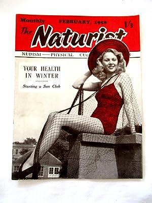 The Naturist. Nudism, Physical Culture, Health.February 1958.: Naturist