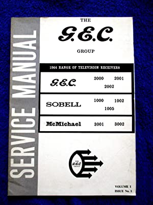 G.E.C. 1964 Range of Television Receivers Service: GEC, General Electric