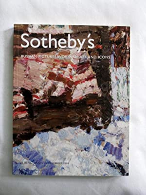 Russian Pictures, Works of Art and Icons,: Sotheby & Co.