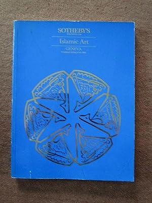 Islamic Art. 25 June 1985. Manuscripts, Miniatures: Sotheby & Co.