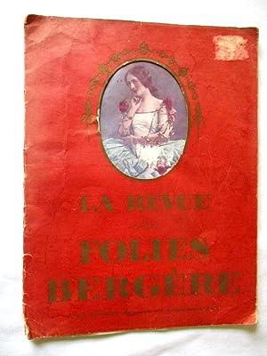 La Revue des Folies Bergere. c1923.: Folies Bergere. Eugene