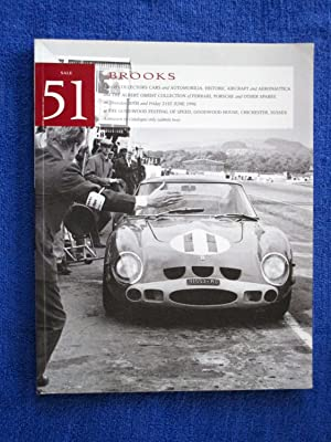 051. Collectors Cars and Automobilia, Historic Aircraft: Brooks, Robert.