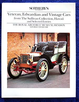 Veteran, Edwardian and Vintage Cars from the: Sotheby & Co.