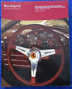 Historic Ferrari Motor Cars, Related Automobilia, Patek: Bonhams