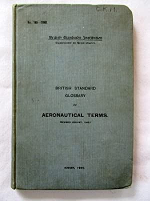 British Standard Glossary of Aeronautical Terms.no 185: British Standards Institution.