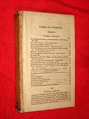The ANNALS of PHILOSOPHY, January to June 1822. Vol III of New Series, or Nineteenth from the ...