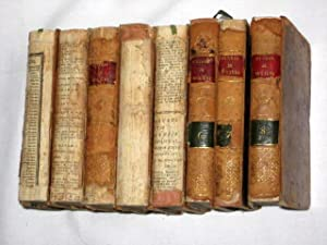 Oeuvres de J. B. Poquelin De Moliere. 8 Volumes. (Tome 1,2,3,4,5,6,7,8.): Molière