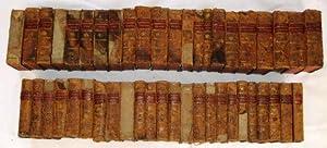 Collection Complete des Oeuvres de J.J. Rousseau, Citoyen de Geneve. 46 Volume Set,: Rousseau, ...
