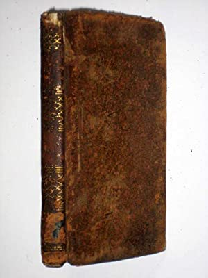 The Poetical Works of NICHOLAS ROWE Vol III of 4. With The Life of The Author by Samuel Johnson. in...