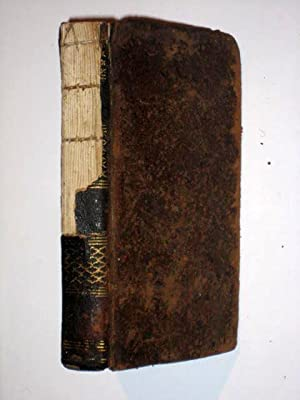 The Poetical Works of NICHOLAS ROWE Vol II of 4. With The Life of The Author by Samuel Johnson. in ...
